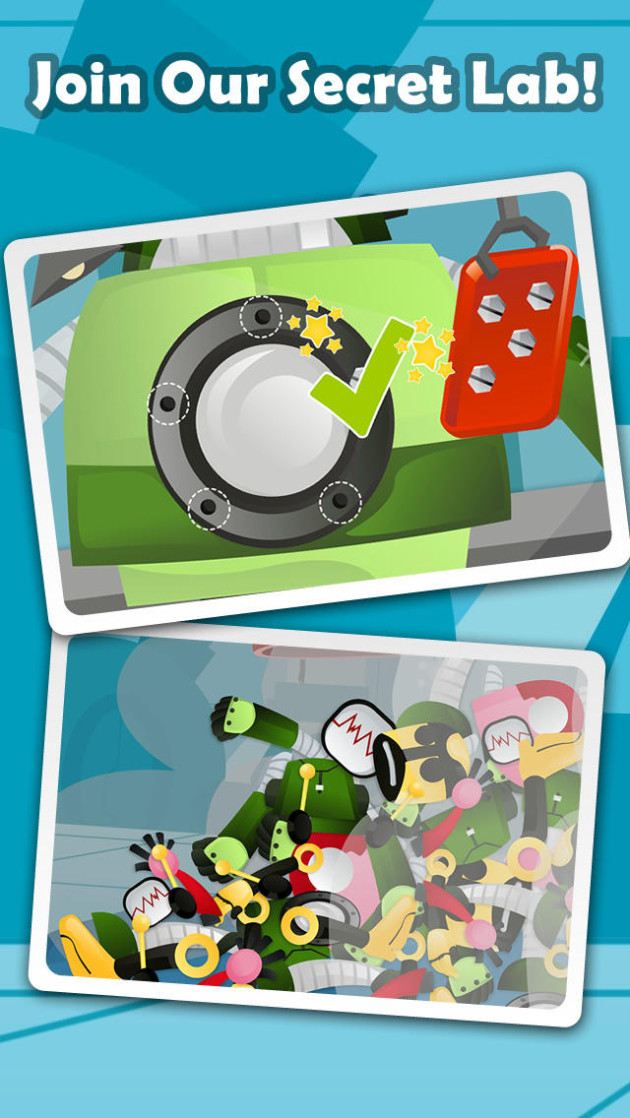 free download Secret Robot Lab - Free Game for iphone