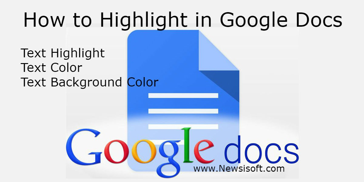 How to Highlight in Google Docs