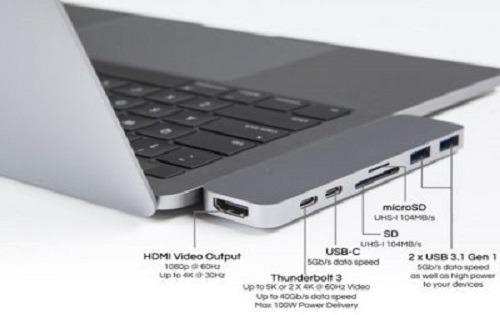 thunderbolt 3 laptops