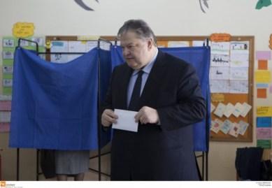 Βενιζέλος: Εδωσε γραμμή για μη στήριξη των υποψηφίων του ΣΥΡΙΖΑ στον β γύρο