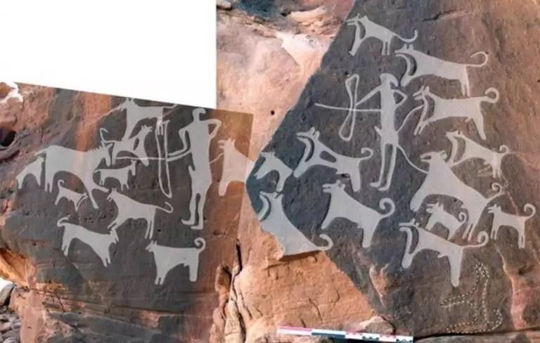 Ανακαλύθφηκαν οι αρχαιότερες απεικονίσεις σκύλων [vid] | Newsit.gr