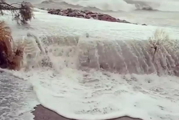 κυκλώνας Ζορμπάς - Καλαμάτα