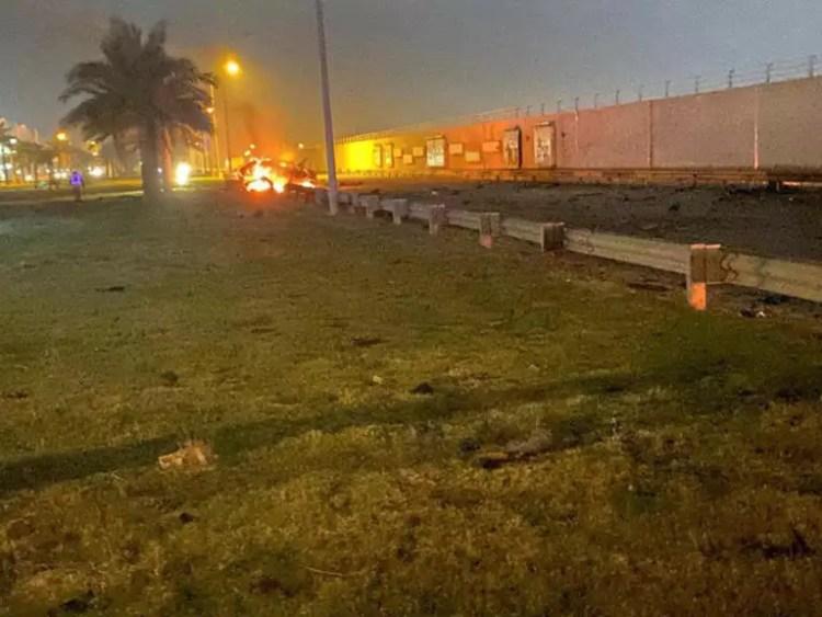 Βαγδάτη: Οι ΗΠΑ βομβάρδισαν το αεροδρόμιο με εντολή Τραμπ! Νεκρός Ιρανός στρατηγός [pics]
