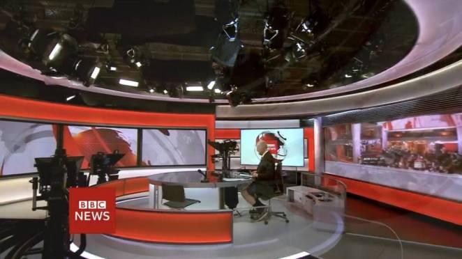 Επικό: «Λάθος» πλάνο «έκαψε» παρουσιαστή του BBC