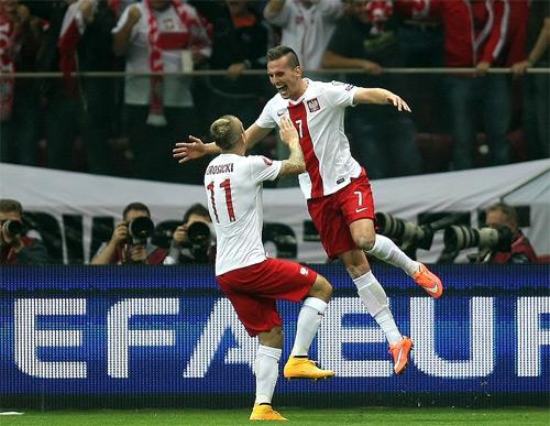 Polonia Germania 2-0 la Varsovia