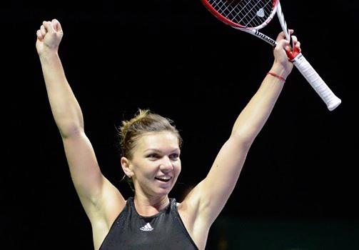 Turneul Campioanelor Simona Halep joaca in finala cu Serena Wiiliams