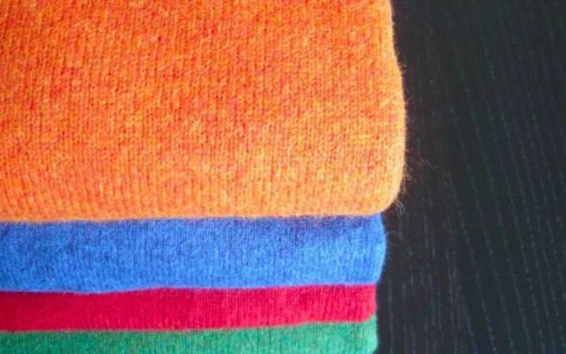 Μην πετάξετε τα παλιά πουλόβερ, αξιοποιήστε τα