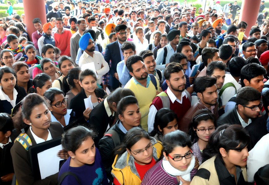 Aryans 33rd Job Fest witnessed record 100 Companies in a single day