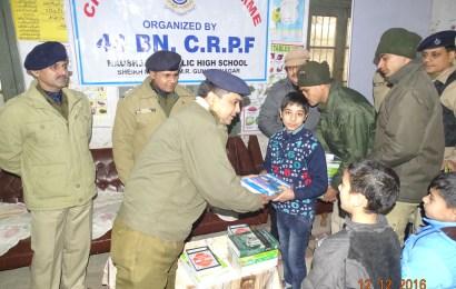 44 BN CRPF ORGANISED A CIVIC ACTION PROGRAMME  AT DOWN TOWN SRINAGAR