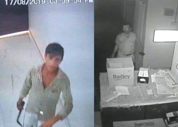 CCTV कैमरे में कैद बदमाशों तक नहीं पहुंच रही लंका पुलिस