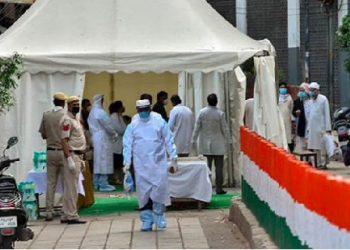 दिल्लीः दो जमातियों पर FIR दर्ज, वार्ड के सामने शौच करने का आरोप