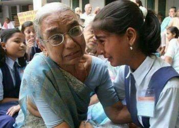 रोती दादी-पोती कीवायरलतस्वीर की पूरी कहानी, जानें