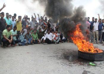 PM मोदी के संसदीय क्षेत्र वाराणसी में भी SC/ST  एक्ट का व्यापक विरोध और आगजनी