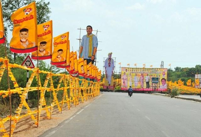 టైమ్స్ నౌ ప్రకారం… తెలుగుదేశం పతనం!!