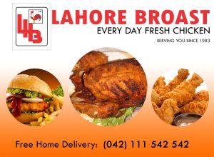 Lahore Broast