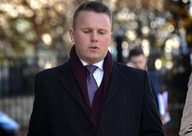 Former DUP councillor Thomas Hogg