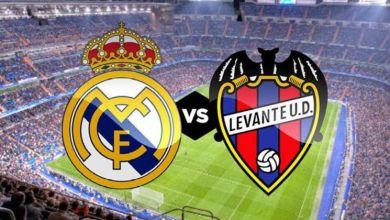 الدوري الإسباني.. ريال مدريد يسعى لخطف الصدارة أمام ليفانتي