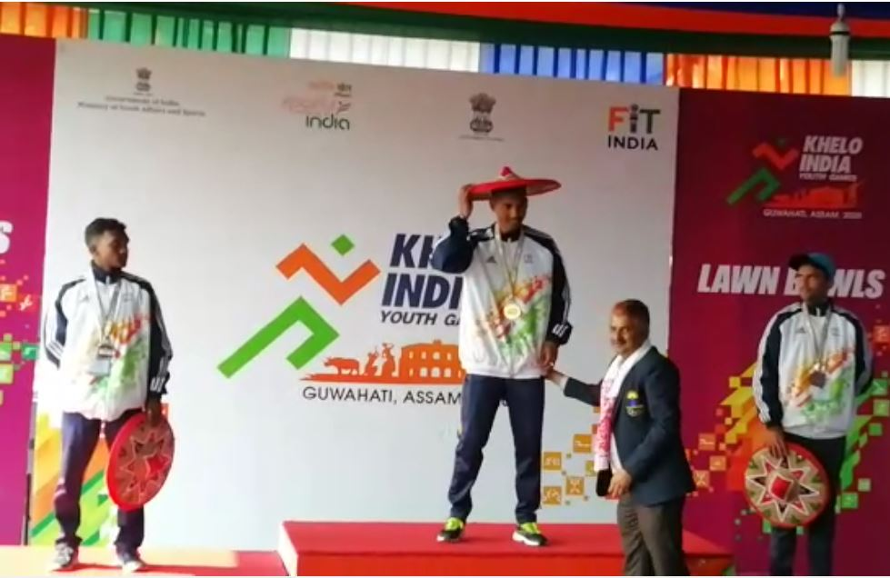 Khelo India: Assam win three golds & a bronze in lawn bowls