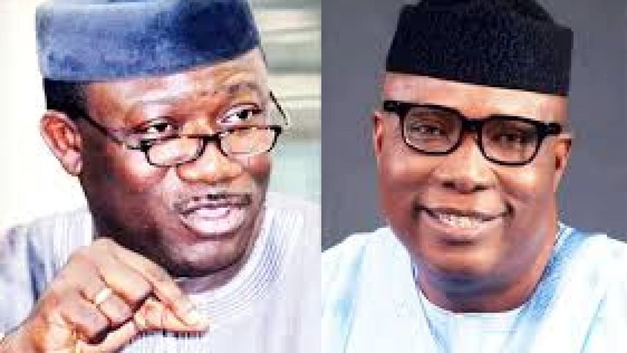 Fayemi Faults Ojudu's Newspaper Story, Fights Back | NewsmakersNG