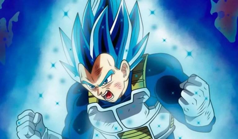 Les Spoilers Dragon Ball Super Chapitre 45 : La nouvelle forme bleue de Kaioken de Vegeta est dévoilée