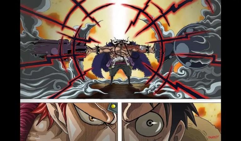 Extrait de One piecechapitre 934 Spoiler, Luffy et Kid seront-ils torturés par Queen?