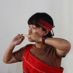 口簧琴為泰雅族傳統樂器。