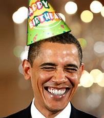 Barack Obama, Birthday, Debt Ceiling