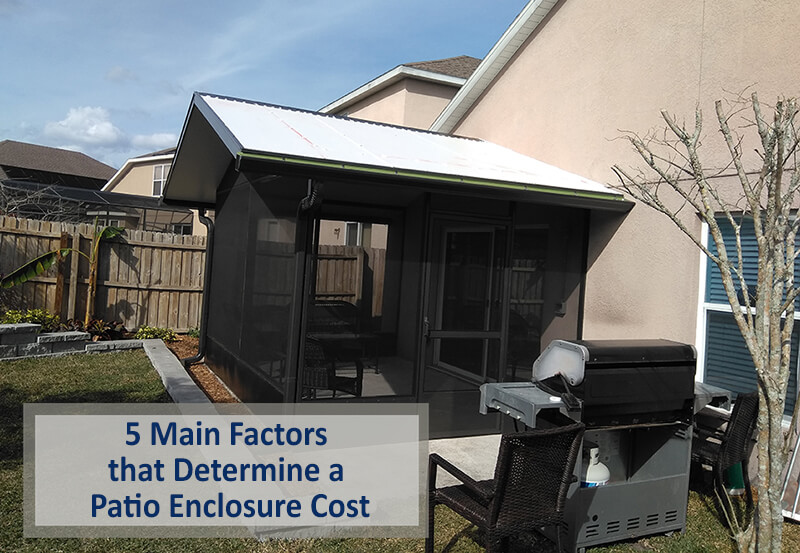 patio enclosure cost
