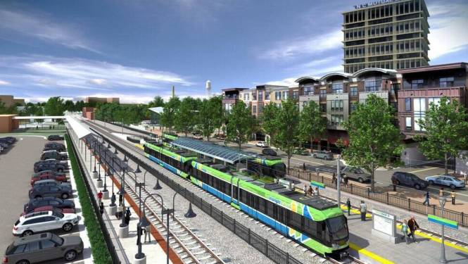 Light Rail In Downtown Durham Will