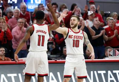 NC State basketball team at ACC media day: Experience helps ...