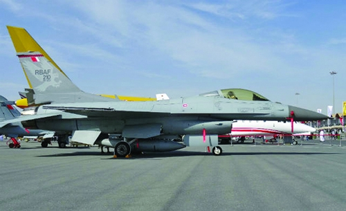 Bahrain planning to upgrade fleet with advanced F-16s