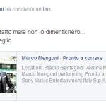 Scrive su facebook Giorgia Lucini a Manfredi Ferlicchia