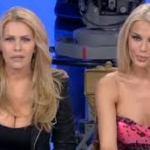 Claudia Montanarini con la sorella Giulia