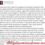 Barbara de Santi replica a Tina Cipollari