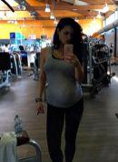 Foto Hot di Cristina del Basso incinta