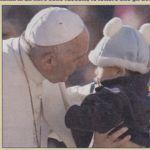 Il pontefice Papa Francesco Bergoglio