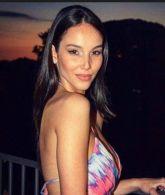 Paola di Benedetto modella e presentatrice TV