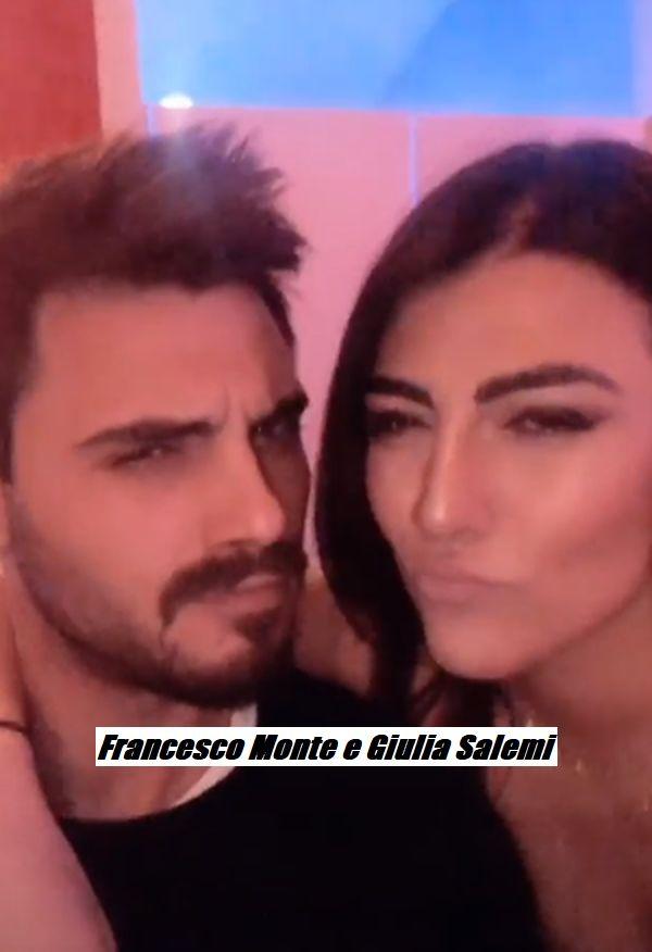 Francesco Monte dopo cinque mesi si dichiara innamorato di Giulia Salemi , ma non dimentica le negatività subite all'Isola dei Famosi da parte di Eva Henger
