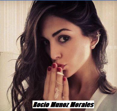 Rocio Munoz Morales accolta con grande entusiasmo a Napoli