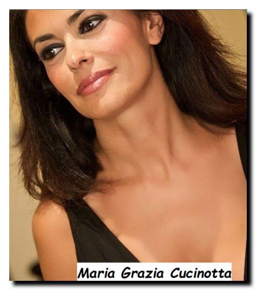 Stupenda attrice Maria Grazia Cucinotta.