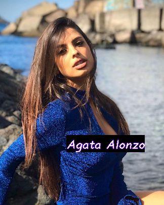 Conduttrice Agata Alonzo ex Miss Italia