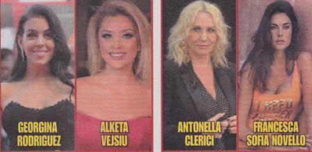 Le donne di Amadeus a Sanremo