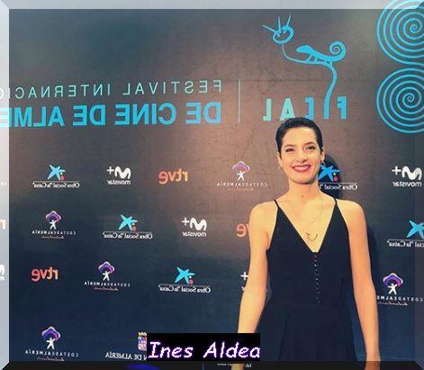 Attrice Spagnola Ines Aldea nella fiction TV su Canale 5 Una Vita