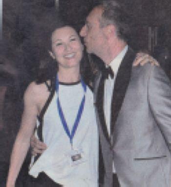 Giovanna Civitillo con il marito