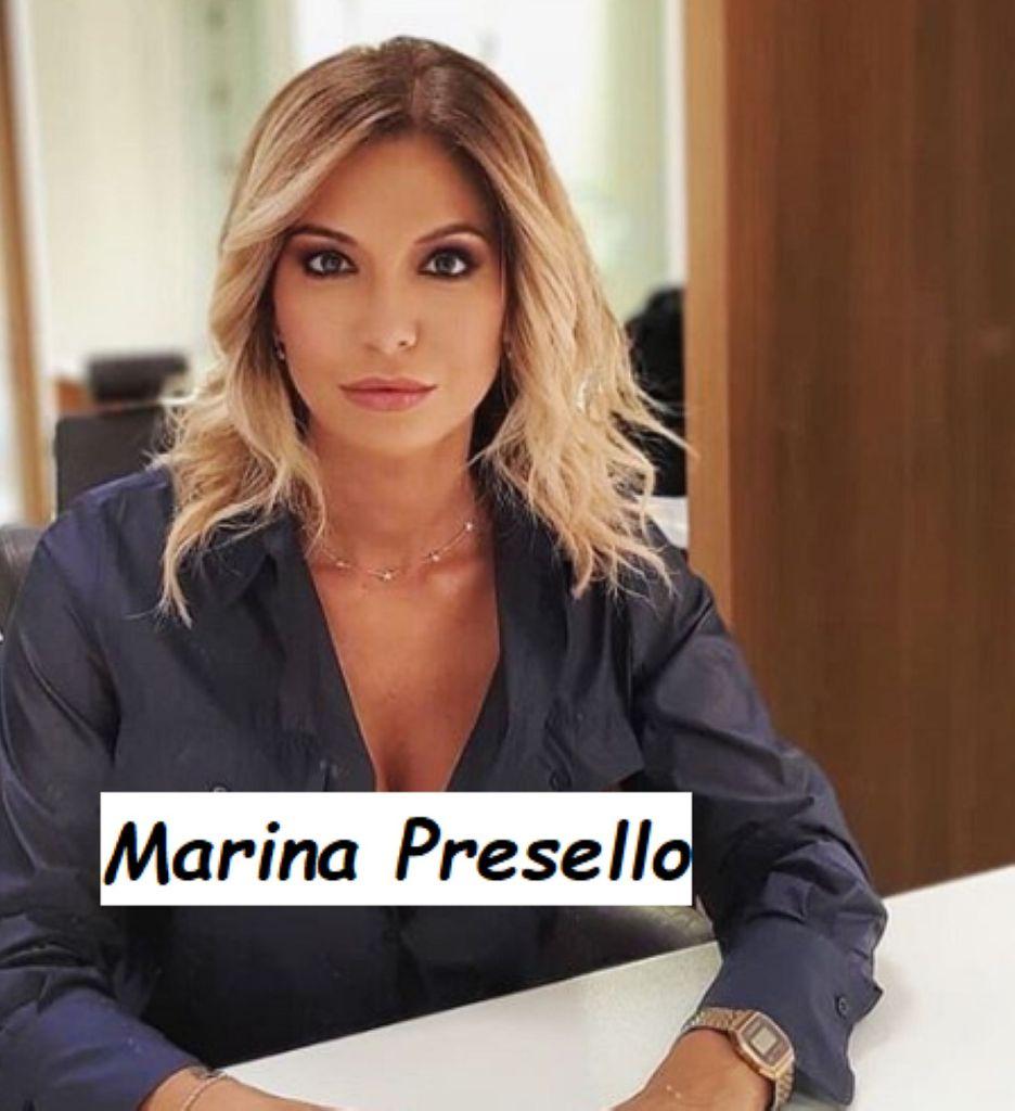 Primo piano giornalista sportiva Sky Sport 24 Marina Presello
