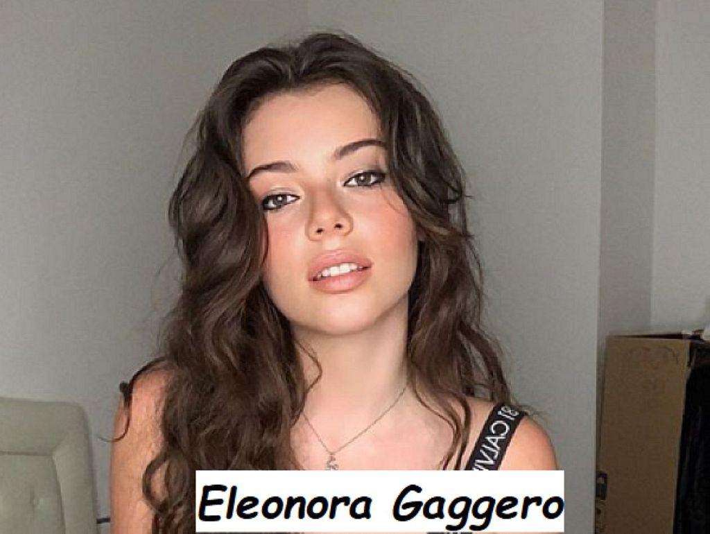 Eleonora Gaggero modella e attrice di Genova di 19 anni