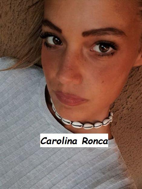 Primo piano Carolina Ronca