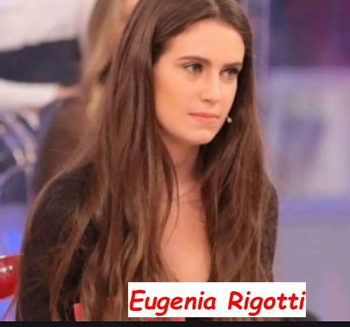 Eugenia Rigotti corteggiatrice in studio a Uomini e donne