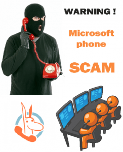 Microsoft Fake Tech Support Scam