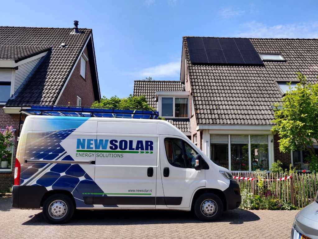 Zonnepanelen installatie door NewSolar